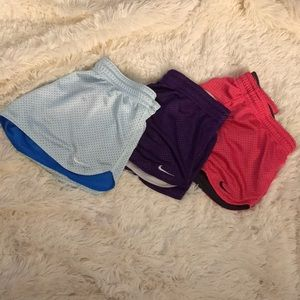 Nike breathable work out shorts